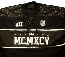 WT02 Gold Edition Stadium Dept NYC Black Gold Hockey Jersey 1995 Sz 3XL EUC