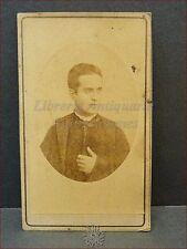 Camillo Bianchi Sacerdote Romano Photo CDV 1860/1870 ca Foto Memoria