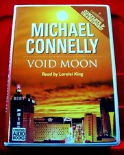 Michael Connelly Void Moon 8-Tape UNABR Audio Book Lorelei King Crime Thriller
