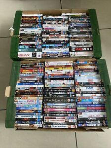 Job Lot Of 149 Dvds & Boxsets - All Checked - Region 2 (b3)