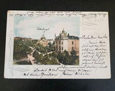 AK Gruss aus CHEMNITZ Stephanplatz SYNAGOGE ? JUDAIKA 1900