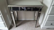 nearly new mirrored console table from wayfair, cm 78h 38d 77w, rrp £160 in sale
