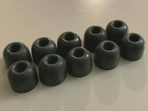Comply T400 Large Foam Ear Tips, 10 Pieces, 5 Pairs, Noise Isolating Earphones