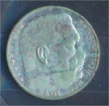 Duits Empire Jägernr: 366 1936 e zeer reeds Zilver 1936 2 Reichsmark Hin(7859118