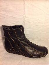 Chelsea Cobbler Black Ankle Leather Boots Size 37