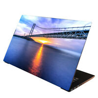 Laptop Folie  Aufkleber Schutzfolie für Notebook Skin Cover Brücke 13-17 Zoll