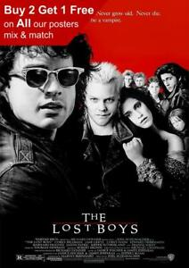 The Lost Boys 1987 Movie Poster A5 A4 A3 A2 A1