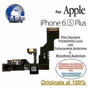 Flex Sensore Prossimità Luce Camera Front Mic per Apple iPhone 6S Plus Originale