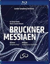 Bruckne -Messiaen [Blu-ray] [2018] [DVD][Region 2]