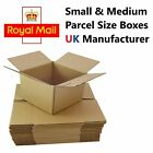 Royal Mail Small Parcel Postal Mailing Cardboard Boxes - Multi Listing