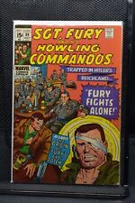 Sgt Fury and His Howling Commandos #89 Marvel Comic 1971 Stan Lee Dick Ayers 6.5