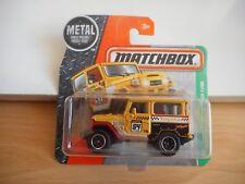 Matchbox Toyota Land Cruiser FJ40 in Yellow on Blister