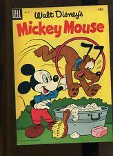 WALT DISNEY'S MICKEY MOUSE #43 (9.2) FILE COPY 1955