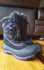 """Baffin """"Alicia"""" Winter/Snow Boots Black Ultralite Series W005 Size 5 Canada"""