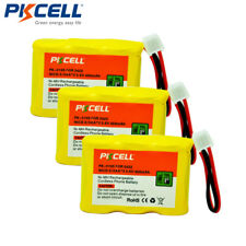 3pcs 3.6V NiCd 2/3AA Cordless Phone Battery for AT&T 2422 2455 2440 2447-PKCELL