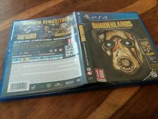 REPLACEMENT CASE For Borderlands The Handsome Collection NO GAME on Sony PS4 VGC