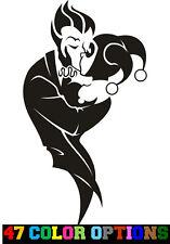 Decal Vinyl Truck Car Sticker Dc Comics Batman Joker Amp Harley Quinn Kissing