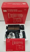 Vintage Sears 6x zoom sound movie camera original box parts or repair only 39199