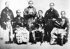 Kanrin Maru Sailors 1934 Japan Samurai Japanese 7x5 Inch Reprint Photo