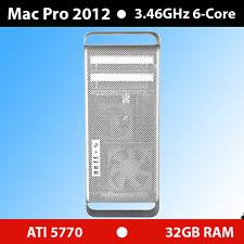 Apple | Mac Pro 5,1 | Mid 2012 | 3.46GHz 6-core | 32GB | 2TB | ATI 5770 1GB VRAM