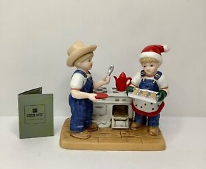 "Denim Days ""Cookies For Santa"" 2006 Home Interiors & Gifts EUC"