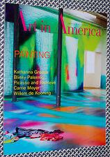 Art in America Magazine, DE KOONING, Katharina Grosse, Blinky Palermo, Moyer