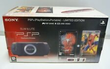 CONSOLE SONY PSP SLIM & LITE SPIDER MAN 3 RED BLACK LIMITED 2004 ZR NEW PAL RARE