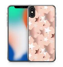 Ravishing Rose Golden Wonderful White Milky Way Stars Pattern Phone Case Cover