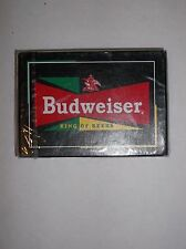 Budweiser King Of Beers Playing Cards By U.S. Playing Card Co.New Sealed