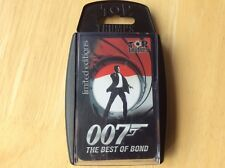 007 Limited Edition Best Of Bond Top Trumps! Look In The Shop!