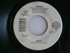 PRINCE ~  SPACE /  SPACE ( RADIO REMIX) ~ UNPLAYED STORE STOCK ~  FUNK  45 !