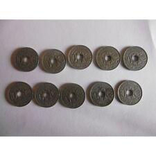 Lot de 10 pieces de 10 centimes 1930 à 1939-LINDAUER