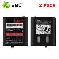 2 PACK 3.6V 1000mAh 53615 NiMH Battery For Motorola Radio T5700 T5710 KEBT-071A
