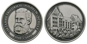 Old German/Preussia 150 Year´s Friedrich Wilhelm School 1840-1990, 999er Silver