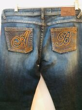 NWT Apple Bottoms Womens Jeans Size 11/12 (Measures W35xL33.5) Medium Wash