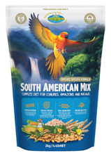 VETAFARM SOUTH AMERICAN MIX 2Kg for Small to Medium South American Parrots Food