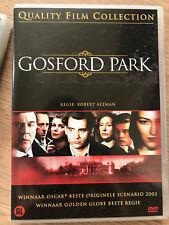 GOSFORD PARK : VAN ROBERT ALTMAN - dvd - NIEUW - NOUVEAU