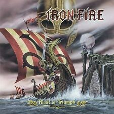 IRON FIRE Blade of Triumph CD 11 tracks FACTORY SEALED NEW 2007 Napalm