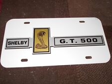 1967 SHELBY GT500 GT-500 COBRA MUSTANG GRILLE GRILL EMBLEM LICENSE PLATE NEW