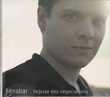 CD DIGIPACK 12T BENABAR REPRISE DES NEGOCIATION EDITION LIMITEE 2013 NEUF SCELLE