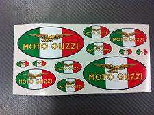 Kit Adesivi MOTO GUZZI Tricolore 12 pz.