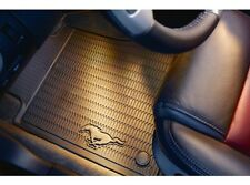 2011 2012 2013 2014  FORD MUSTANG PONY OEM FACTORY ALL WEATHER BLACK FLOOR MATS