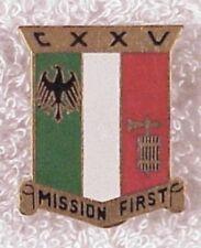 Army DI pin - 125th Transportation BN - nhm, German made - gilt