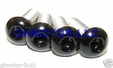 95 96 97 98 99 CBR900RR 900RR GLOSS BLACK COMPLETE FAIRING BOLTS SCREWS KIT USA