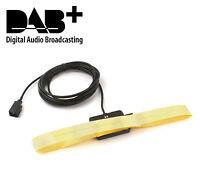 DAB+ Antenne für AUDI SEAT SKODA VW Klebeantenne Scheibenantenne FAKRA Stecker