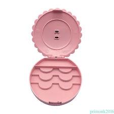 False Make Up Cosmetic Eyelashes Storage Case Bow Makeup Plastic Box Tools PN1