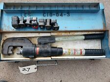 Huskie Ep 510k Compression Crimper Tool With 8 Sets Of Dies
