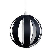 Plafonniers et lustres suspensions noir en plastique pour la maison
