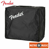 Genuine Fender Blues Junior Black Amplifier Cover with Handle Opening & Logo NEW