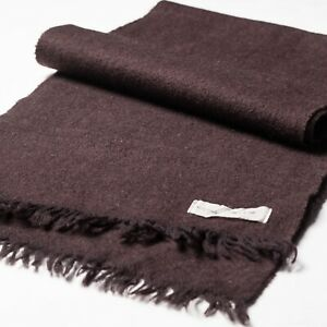 Brown Cashmere Wool Classic Scarf